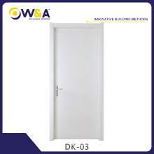 WPC Intérieur Flush Panel Door for Hotel Project